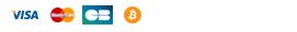moyens de paiement : bitcoin, cb, visa, mastercard, cheque et virement